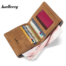 2017 Hot Sale Baellerry High Cost Performance Men Wallets PU Leather Short Purse Wallet Retro Casual Billeteras Monederos Walet(China)