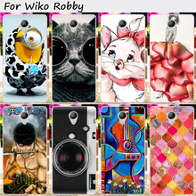 TAOYUNXI Hard Plastic&TPU Cell Phone Cover For Wiko S-Kool Wiko Robby Case Cool Skull Lovely Animal Flower Durable(China)