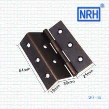 NRH angle hinge Bronze hinge Antique hinge Classical furniture hinge Cabinet door