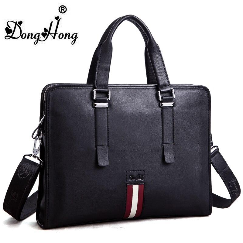 DongHong luxury designer leather briefcase men handbag bag,classic mens travel bags, brand men messenger bags<br><br>Aliexpress