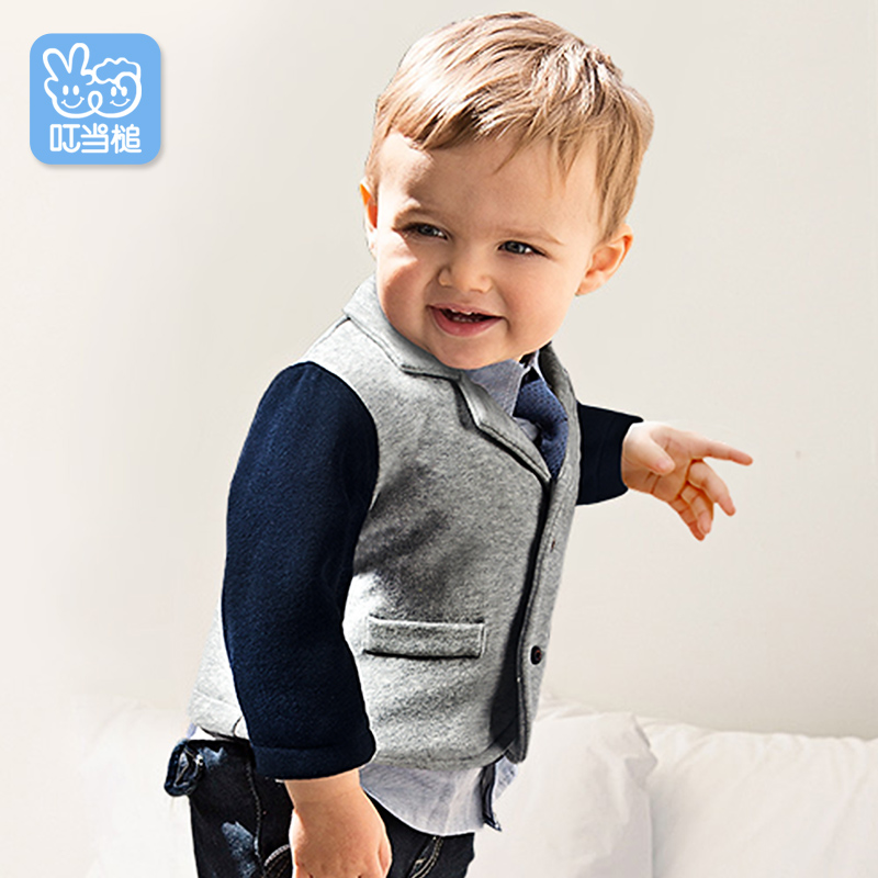 Dinstry Suit for male baby in the spring and Autumn  British style <br>