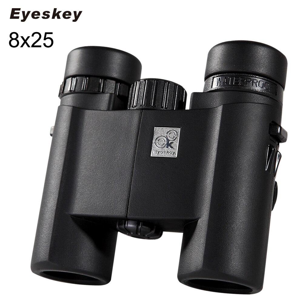 Eyeskey Real Standard 8X25 HD Optical 429ft/1000yrd Waterproof Binoculars Telescope For Tourism Camping Scope Hiking Binoculars<br><br>Aliexpress