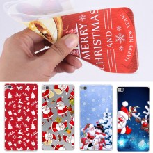 For Huawei P10 Lite P9 Lite Cases Christmas Happy New Year Soft Silicon Case Back Cases For Huawei P8 Lite 2017 Y5 ii Cover(China)