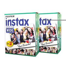 Fujifilm Instax Wide Instant White Edge 40 Film For Fuji Instax Camera 100 200 210 300 500AF