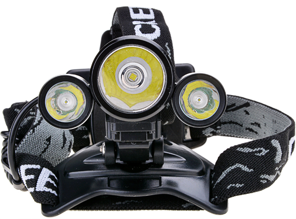 6000LM LED Headlamp XML T6 Rechargeable Headlight Head Lamp Spotlight For Hunting+2 PCS 18650<br>