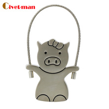 Pig Usb flash drive 4GB 8GB 16GB 32GB 64GB cute metal pig shape pen drive 100% real capacity wholesale price Usb creativo