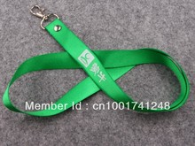 Wholesale custom logo print lanyards no mininum,business promotion ribbons neck strap for cellphone lanyards/MP3 50pcs/lot(China)