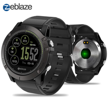 New Zeblaze VIBE 3 HR IPS Color Display 스포츠 폰 스마트 Heart Rate Monitor IP67 방수 Smart Watch Men 대 한 IOS & 안드로이드(China)