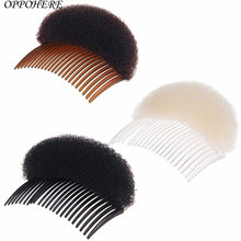 2017 popular Women Easy useful Used Hair Clip Hot Stick Bun Maker Braid Tool Hair Accessories Comb(China)
