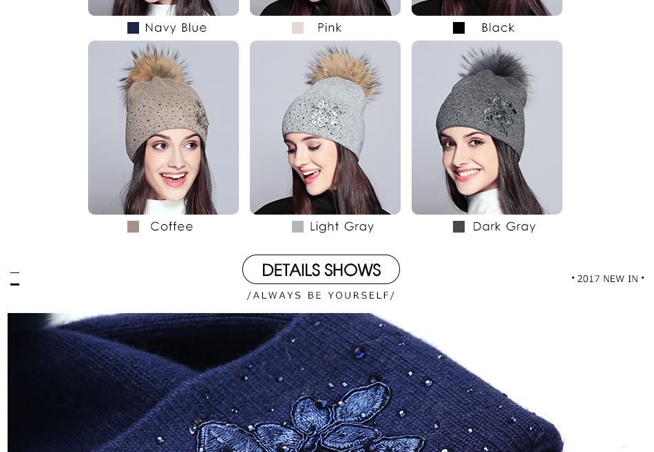 winter hats for women MZ713B (5)