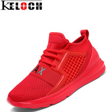 Buy Keloch Spring/Autumn Air Mesh Breathable Sneakers Men Running Shoes Lightweight Soft Outdoor Male Walking Athletic Sport shoes for $22.68 in AliExpress store