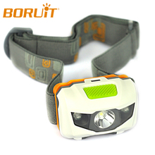 Boruit R3+2LED 800 Lumens 4 Modes Mini Headlamp light Outdoor Headlight Waterproof Head Lamp Lantern For Hunting USE AAA