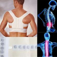 Orthopedic Back Support Belt Correct Posture Brace Correcteur de Posture 12 Magnets Magnetic Posture Corrector Men  XL XXL B001