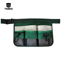 Multifunction Durable Canvas Tool Pockets  Gardening cleaning domestic tool pockets tool bag with reflection strip DB008