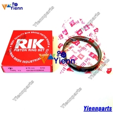 Mitsubishii K3D Piston Ring Set MM406600 STD Size For ISEKI TU160 ISEKI TU170 Tractors Mitsubishi K3D Diesel engine parts(China)