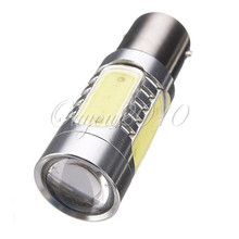 Best Price 1156 BA15S 7.5W COB LED Car Auto Lights Backup Reverse Bulb Replacement Lamp Red/Yellow/White 10-24V(China)