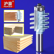 1PC 1/2*5/16 Rail and Stile Finger Joint Glue Router Bit Cone Tenon Woodwork Cutter Power Tools 1/2 inch Shank