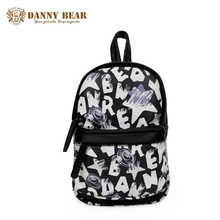 DANNY BEAR Men Crossbody Chest Bag Women Small Leather Shoulder Bags Vintage Korean Cheap Messenger School Bags Mochila Escolar(China)