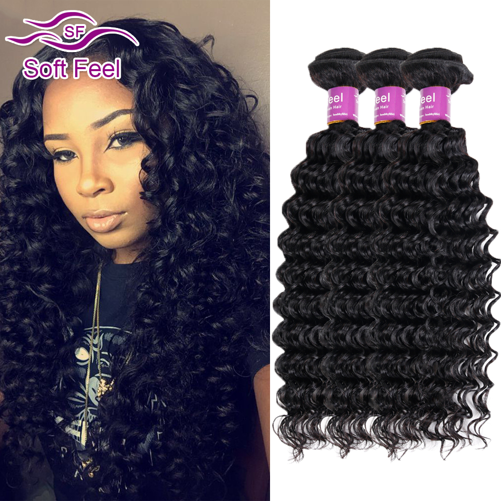 Peerless Indian Virgin Hair Deep Wave 3 Bundles Virgin Indian Deep Curly Hair Hj 8A Raw Unprocessed Virgin Human Hair Extensions<br><br>Aliexpress