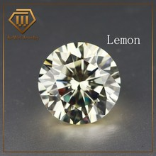 High Quality Biggest Size AAAAA 15mm-20mm Lemon Loose CZ Cubic Zirconia Beads Stone Synthetic Gemstone