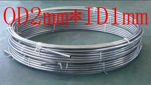 OD2mm*ID1mm,Stainless steel gas line pipe,stainless steel tube,stainless steel coil pipe