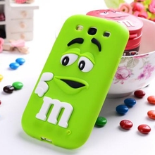 3d Cartoon M&M Soft Silicon TPU Case For Samsung Galaxy A3 A5 A7 J1 J2 J3 J5 J7 2015 2016 A310 A510 A710 J120 J510 J710 Cover