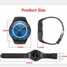 Latest Smart Watch V365 Full Circle Smartwatch Pedometer Fitness Tracker SIM TF Mobile Watch for IOS android Smart Watch android