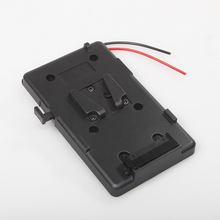 For Sony V-Shoe V-Mount V-Lock External Battery Back Pack Plate Adapter DC Output 1 D-Tap connector Power Tap