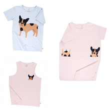 2017 New Tiny Cottons Cartoon Dog Kids Clothes Sets Children Clothes 2017 Summer Boys Girls Clothing Baby Tops Tee Tshirt Pants
