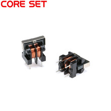 5PCS/Set UU9.8 UF9.8 Common Mode Choke Inductors Filter 10MH 20MH 30MH 40MH 50MH Vertical Foot Pitch 7x8MM Copper Wire