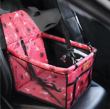 New Folding Washable Hammock Car Mat Seat Cover Bag Crate Storage Pocket For Dog Cat Pet Rear Single Seat Pads(China)