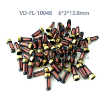 500pcs For Audi BMW GMC  Fuel Injector Basket Filter  Top Quality Fuel injector Repair Service Kit  Size 6*3*13.8mm VD-FL-1004B