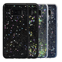 Buy Yokata Bling Glitter Shiny Stars Sequins Case Samsung Galaxy S8/S8 Plus Ultra Thin Silicone Soft TPU Coque Case Back Cover for $3.07 in AliExpress store