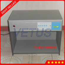 Color proof light box with digital accuracy color assessment cabinet D65 TL84 UV F CWF U30 A