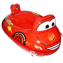 Swimming Ring Giant Pool Float cool car Style baby Swimming Ring Floating Rings Inflatable Toy Life Buoy 76cm PVC hot selling(China)