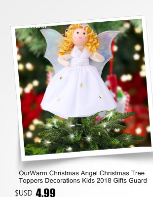 Ourwarm 18 DIY Felt Christmas Tree Pendant Drop Ornaments New Year Gift for Children Kids Door Wall Hanging Xmas Decoration 14