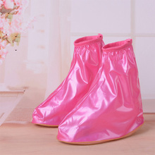 New Children Kid Reusable Rain Shoe Covers Waterproof shoes Overshoes Boot Gear Anti-slip Antiskid