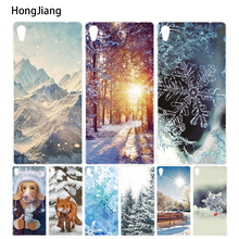 Buy HongJiang winter snow Snowflake Cover phone Case sony xperia C6 XA ULTRA X XP L1 X compact XR/XZ/XZS PREMIUM for $1.99 in AliExpress store