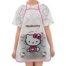 Cartoon Cute Waterproof Cooking Resturant Kitchen Women hello Apron delantal cocina tablier cuisine Kitty rabbit Kids funny bib(China)