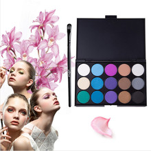 3 Different New Fashion 15 Earth Colors Matte Pigment Eyeshadow Palette Cosmetic Makeup Eye Shadow for Women NXH01276