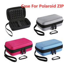 2017 Newest Shockproof Hard Storage Carrying Travel Case Bag For Polaroid ZIP Mobile Printer w/ZINK Zero Ink Printing Technology