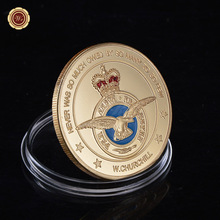 2015 Hot New Gold Plated ARMY Coin Wholesale Royal Air Force Commemorative Custom Coin Fancy Challenge Coin(China)