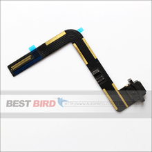 Black and white Charging Port Dock Connector Flex Cable USB Port for Apple iPad Air iPad 5