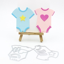 Buy KSCRAFT Lovely Baby Clothes Metal Cutting Dies Stencils DIY Scrapbooking/photo album Decorative Embossing DIY Paper Cards for $4.27 in AliExpress store