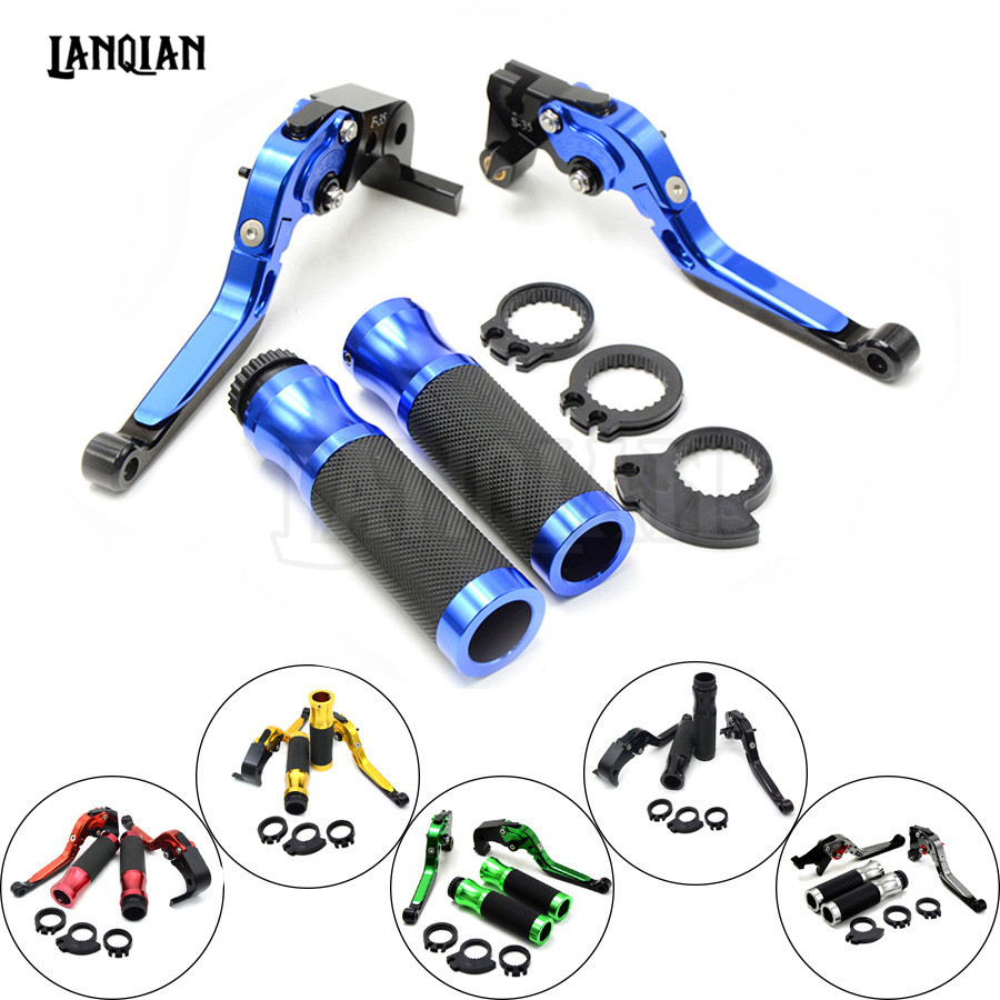 Motorcycle Brakes Clutch Levers Adjustable Folding Extendable handlebar handle bar For Yamaha YZF R1 2004 2005 2006 2007 2008<br>
