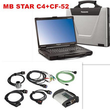 Best MB Star C4 SD Connect+CF52+SSD 2017.05 Xentry Diagnostics System Compact 4 Mercedes Diagnosis Multiplexer For Benz Diagnose