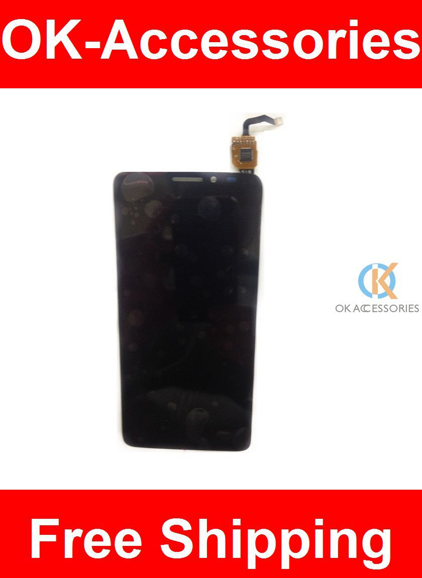 White High Quality LCD Display+Touch Screen For Alcatel One Touch Idol X+ X Plus OT6043 6043 6043D 1PC /Lot<br>