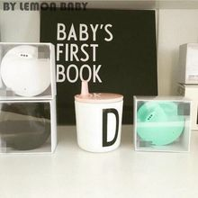 3 Colors Children Letter Cup Lid Baby Drink Mug Lid Water Cup Cover For Letter Cup Cute Kid Gift XHH8221