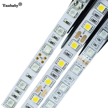 LED Strip 5050 Not Waterproof DC12V 60LEDs/m 5m/lot Flexible LED Light RGB 5050 LED Strip LED Tape Home Decoration Lamps(China)