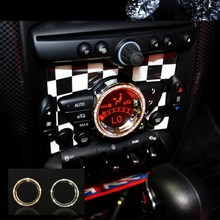 NEW! Luxury Crystal car interior accessories For mini cooper Countryman Roadster Paceman Coupe Clubman JCW 2011-2015
